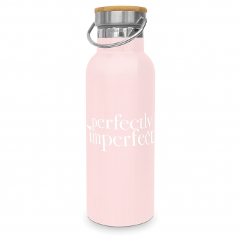 "Edelstahlflasche ""Perfectly Imperfect "" 0,5l"